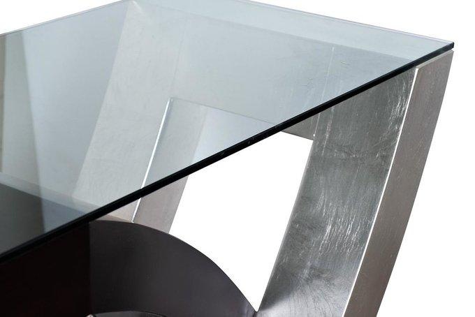 Консоль со стеклянной столешницей