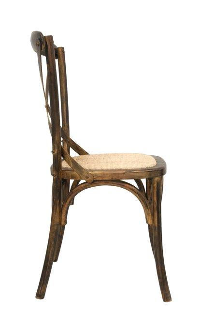 Венский стул Cross Back с каркасом из массива березы