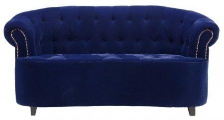 Диван Victoria синего цвета