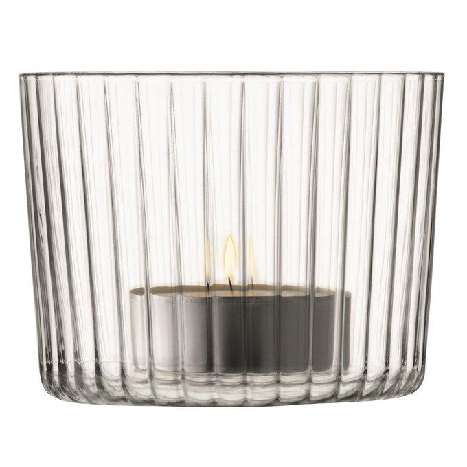 Набор из 4 подсвечников для чайных свечей Gio из выдувного стекла
