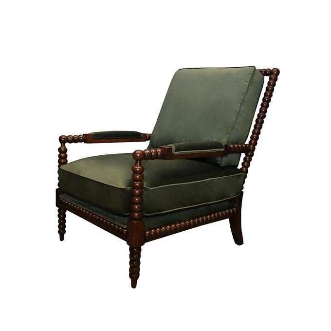 Кресло Сезар зеленого цвета
