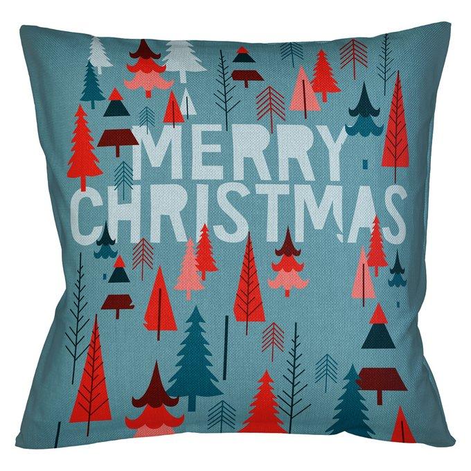 Декоративная арт подушка Новогоднее настроение версия 11