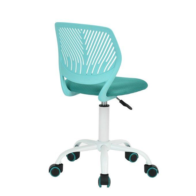 Кресло компьютерное детское Анна бирюзового цвета