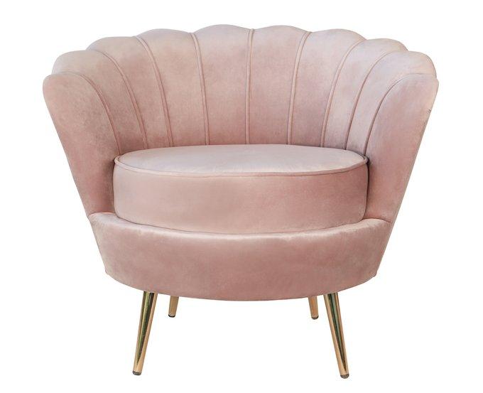 Кресло Pearl розового цвета