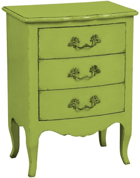Комод малый Флоранс светло-зеленого цвета