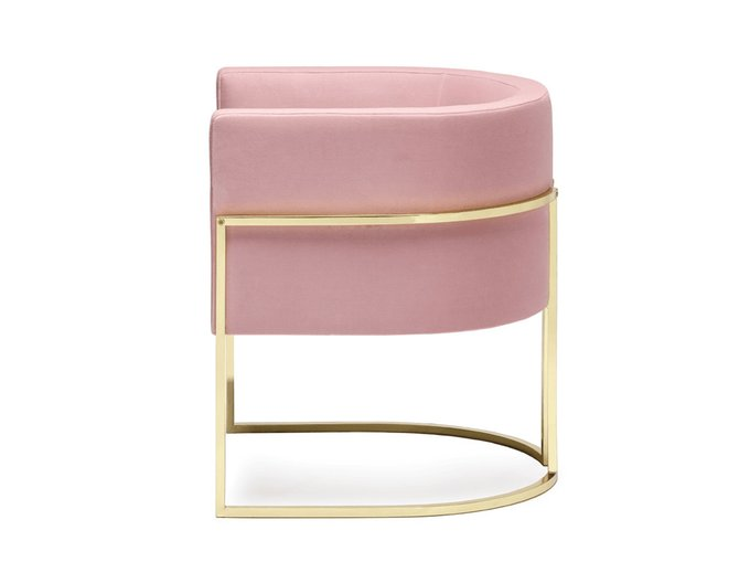 Кресло Julius Chair розового цвета