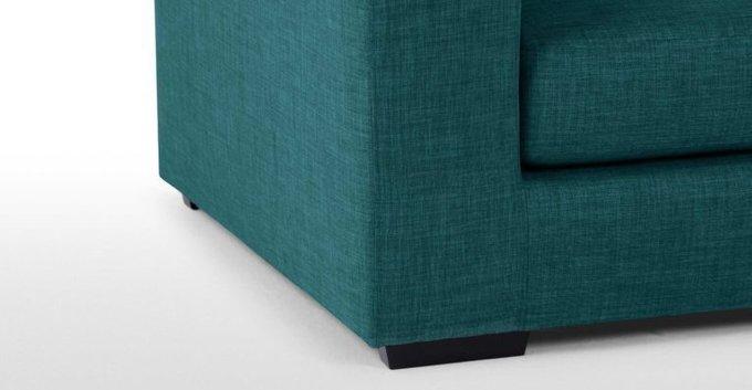 Трехместный раскладной диван Morti бирюзовый