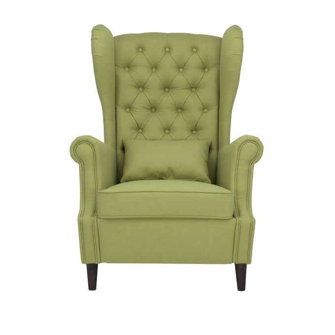 Кресло Винтаж зеленого цвета