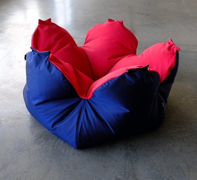 Кресло-мешок Цветок L Tempotest Red