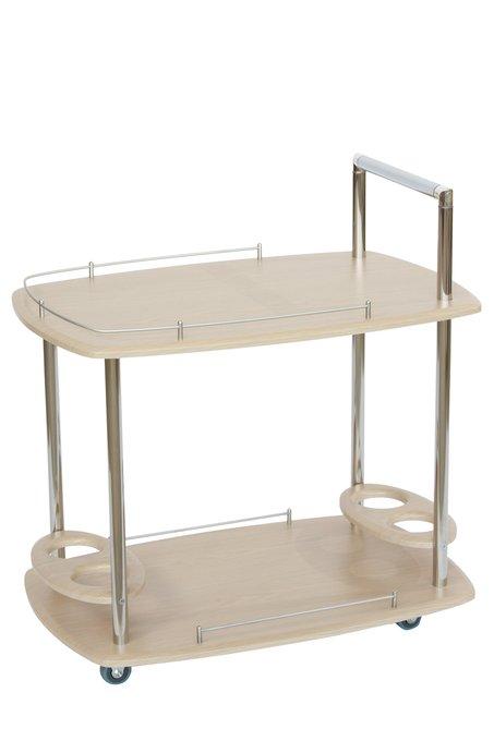 Стол сервировочный Эсперанс на колесиках