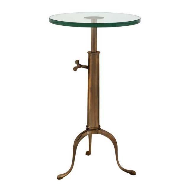 Стол - поднос  Brompton со стеклянной столешницей