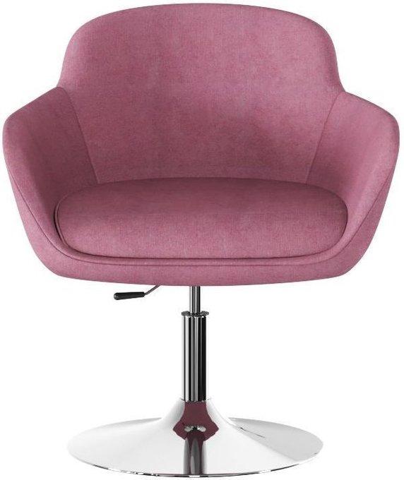 Кресло Данае Purple Dove розового цвета