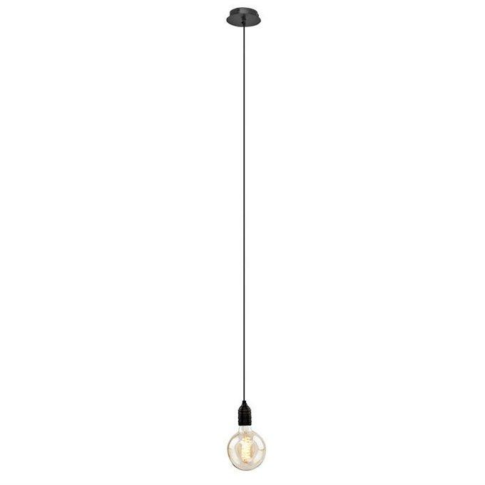 Подвесной светильник Eichholtz Vintage Bulb из античной латуни