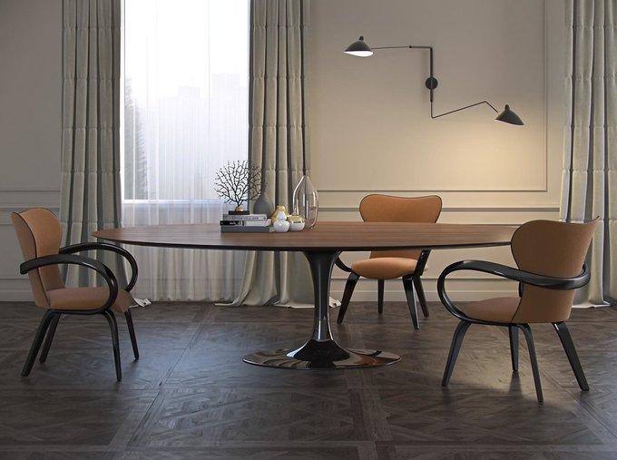 """Стол обеденный """"Apriori T"""" овальной формы"""