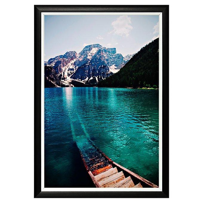 Арт-постер Озеро Брайес на дизайнерской бумаге