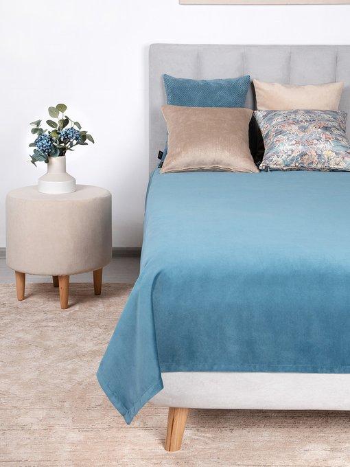 Покрывало Uno Dandy Pasific 140х210 голубого цвета