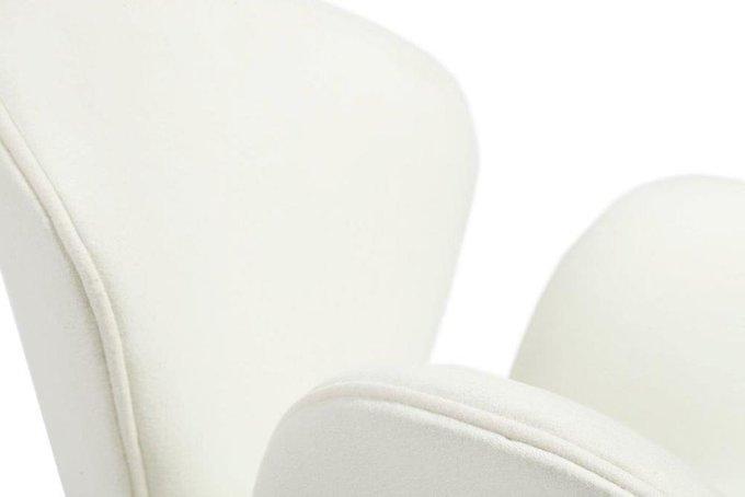 Кресло Swan Chair белого цвета