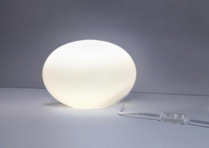 Настольная лампа Nuage белого цвета
