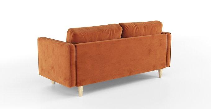 Трехместный раскладной диван Scott оранжевый