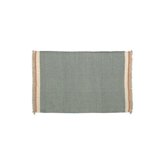 Коврик Nam серо-синего цвета 60x90