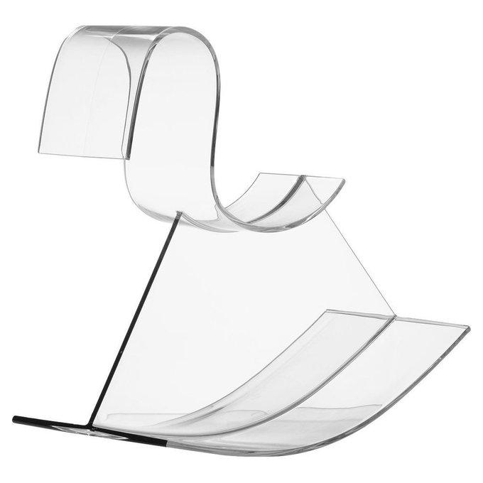 Детское кресло-качалка H-Horse из прозрачного поликарбоната
