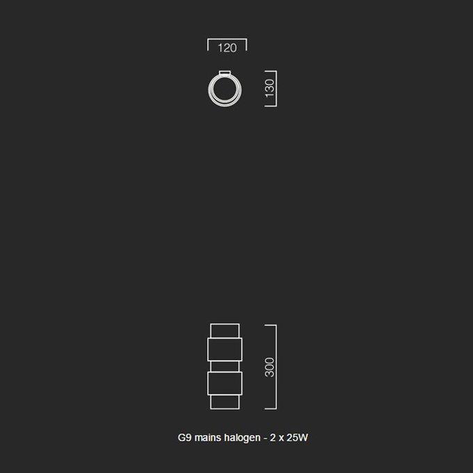 """Настенный светильник """"Ring"""" CTO Lighting"""