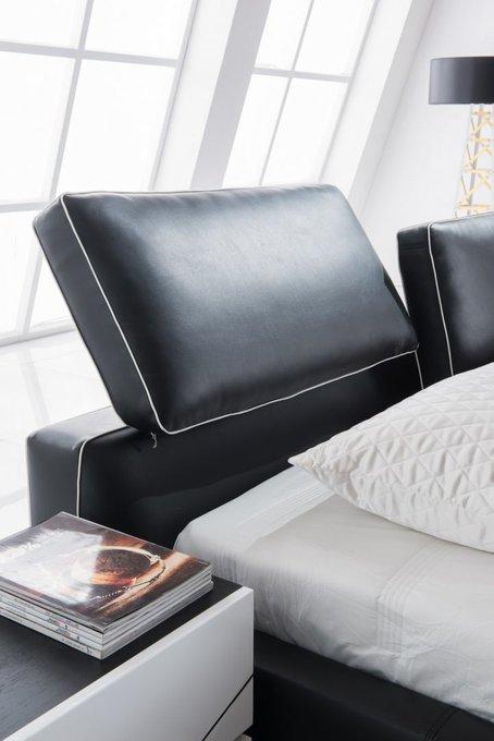 Кровать с обивкой из экокожи 160х200