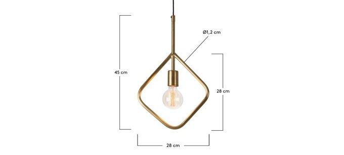 Подвесной светильник Julia Grup ADDRA латунь