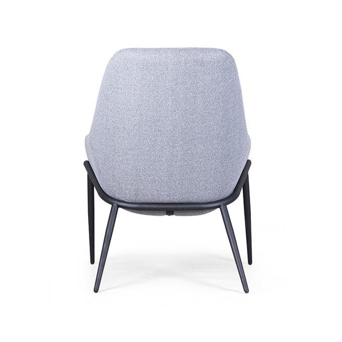 Кресло Сanula серого цвета с обивкой из текстиля