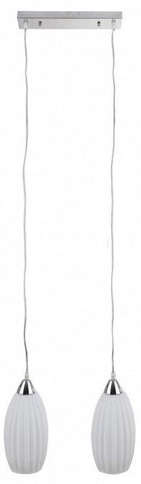 Подвесной светильник Iris Muar с белыми плафонами