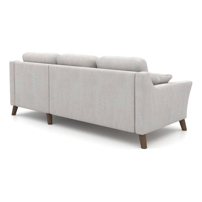 Угловой диван-кровать Raf EKH светло-серый