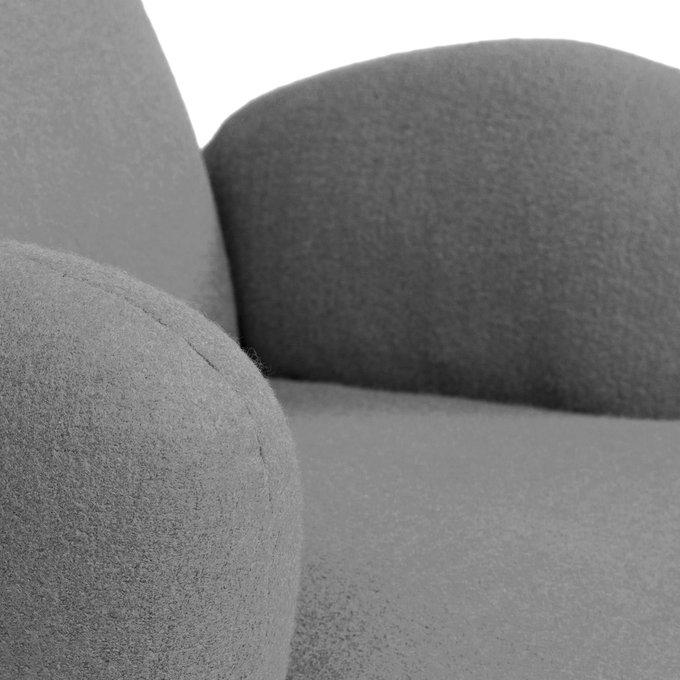 Кресло Bottle Chair серого цвета