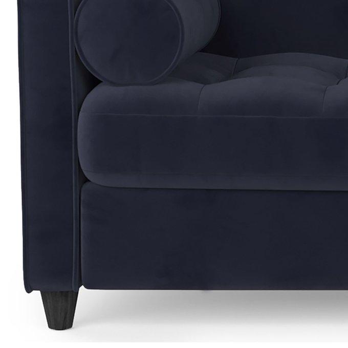 Трехместный диван Scott MT фиолетового цвета