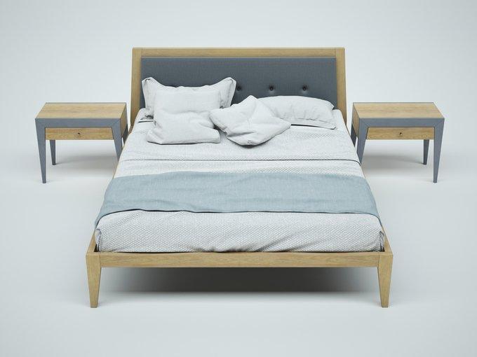"""Кровать """"FLY NEW"""" из массива дуба 160х200 см"""