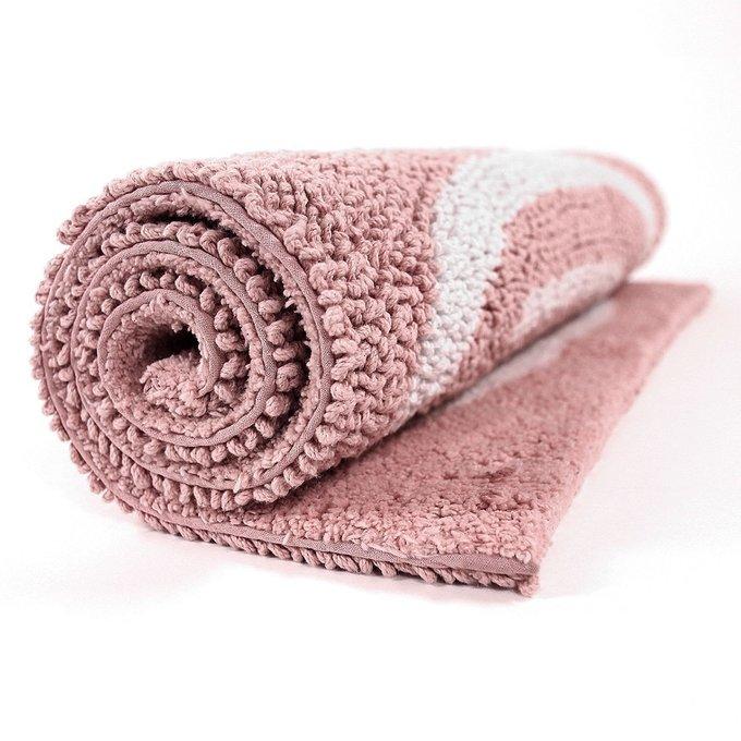 Коврик для ванной Go Round цвета пыльной розы