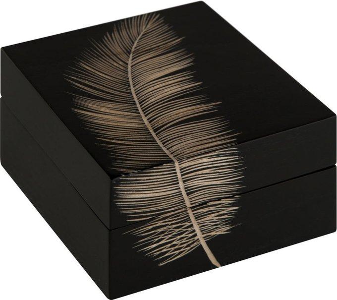 Шкатулка черного цвета