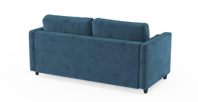 Трехместный раскладной диван Scott голубой