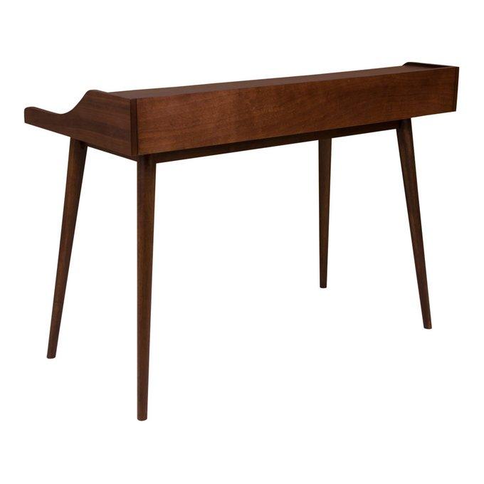 Письменный стол Hellerup коричневого цвета