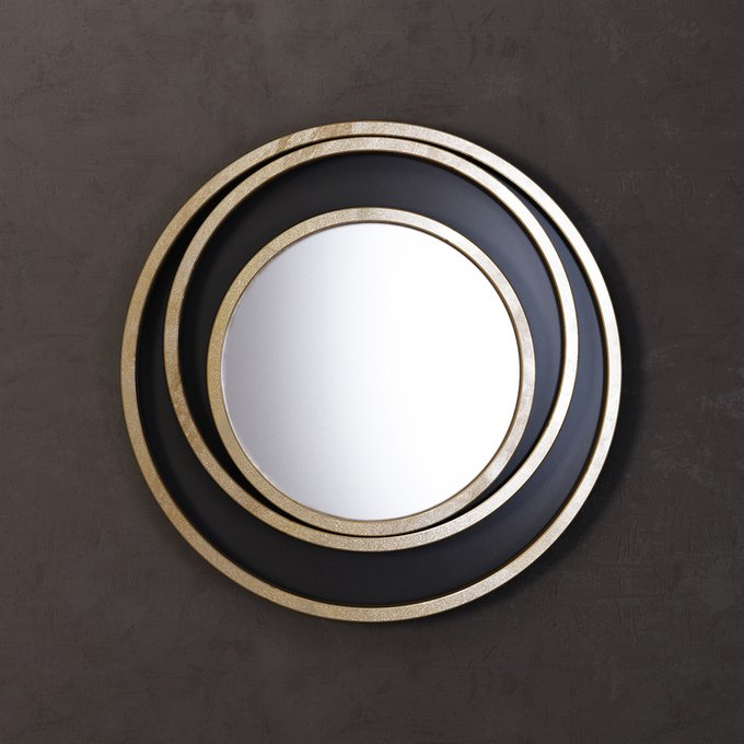 Зеркало Orion черного цвета