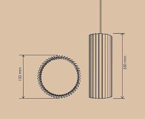 Подвесной светильник Ротор спот