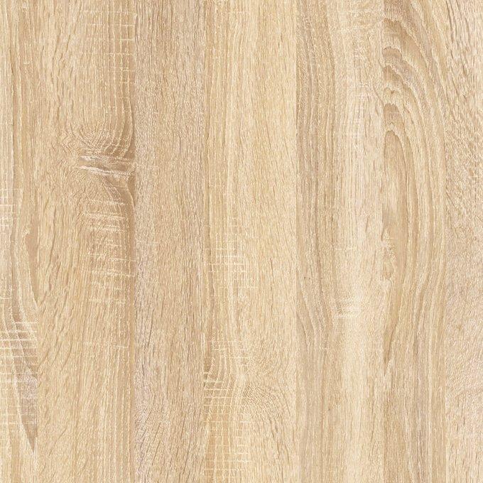 Кровать Келли цвета дуб сонома/иск.кожа 140х200