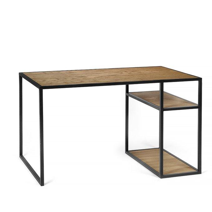 Рабочий стол Romero black темный дуб