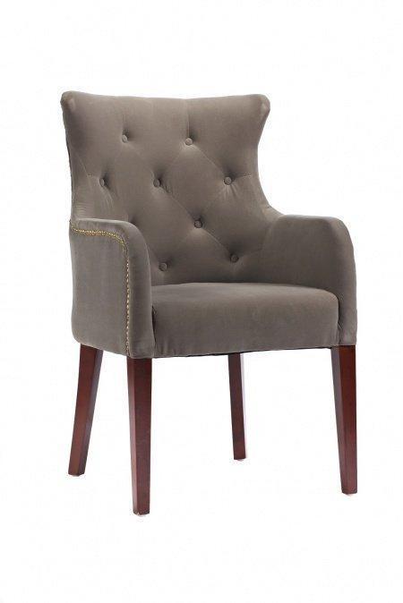 Кресло Rochester серого цвета