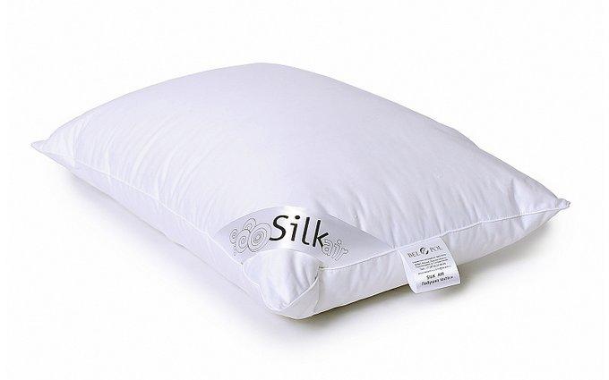 Подушка Silk Air 70x70 с чехлом из сатина