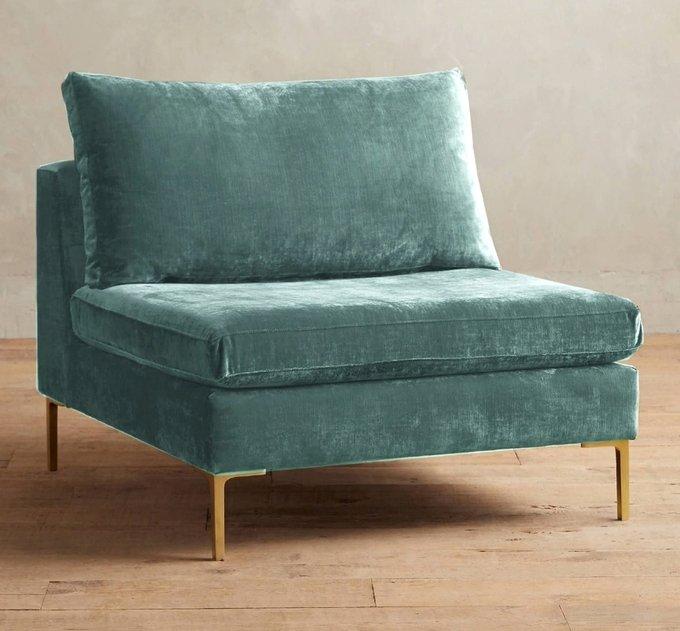 Кресло Kona бирюзового цвета