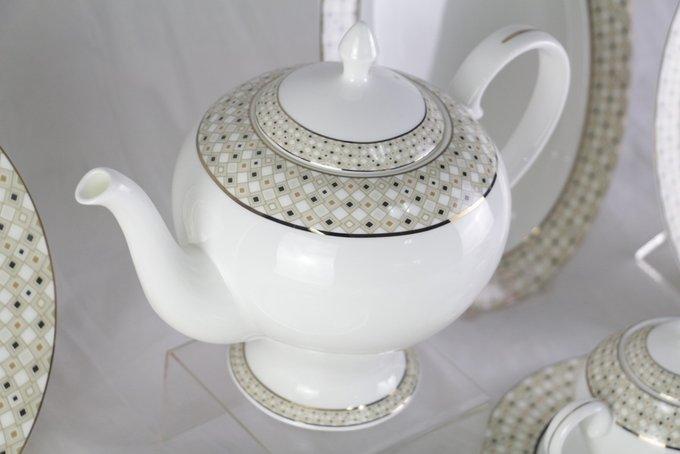 Чайный сервиз Diela из фарфора