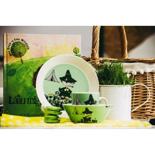 Пиала Снусмумрик зеленого цвета