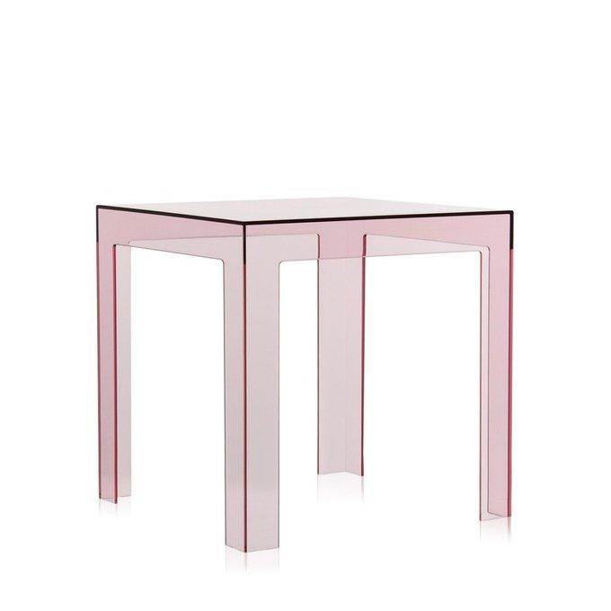 Столик журнальный Jolly розового цвета