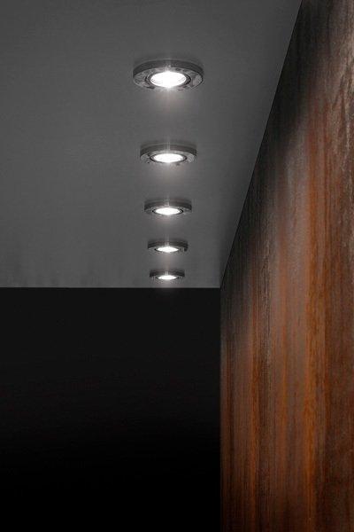 Встраиваемый светильник Fabbian VENERE из полированного до блеска алюминия