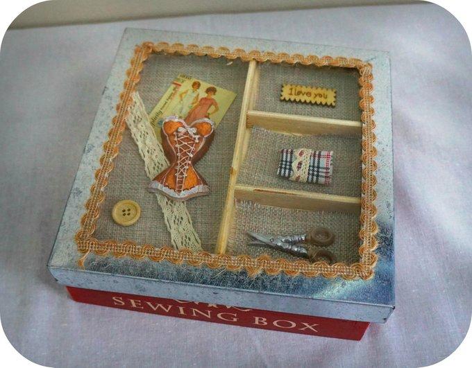Коробка для ниток Модистка